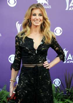 Singer Faith Hill arrives at the 48th Annual Academy of Country Music Awards at the MGM Grand Garden Arena in Las Vegas on Sunday, April 7, 2013. (Photo by Al Powers/Invision/AP) Photo: AP