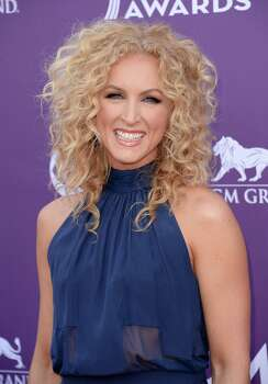 LAS VEGAS, NV - APRIL 07:  Kimberly Schlapman of music group Little Big Town arrives at the 48th Annual Academy of Country Music Awards at the MGM Grand Garden Arena on April 7, 2013 in Las Vegas, Nevada. Photo: Jason Merritt, Getty Images / 2013 Getty Images