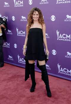 LAS VEGAS, NV - APRIL 07:  Musician Shania Twain arrives at the 48th Annual Academy of Country Music Awards at the MGM Grand Garden Arena on April 7, 2013 in Las Vegas, Nevada. Photo: Jason Merritt, Getty Images / 2013 Getty Images