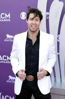 LAS VEGAS, NV - APRIL 07:  Recording artist Austin Webb attends the 48th Annual Academy of Country Music Awards at the MGM Grand Garden Arena on April 7, 2013 in Las Vegas, Nevada. Photo: Jason Merritt, Getty Images / 2013 Getty Images