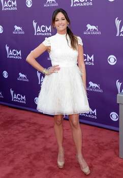 LAS VEGAS, NV - APRIL 07:  Singer Kacey Musgraves arrives at the 48th Annual Academy of Country Music Awards at the MGM Grand Garden Arena on April 7, 2013 in Las Vegas, Nevada. Photo: Jason Merritt, Getty Images / 2013 Getty Images
