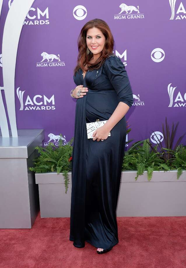 LAS VEGAS, NV - APRIL 07:  Musician Hillary Scott of music group Lady Antebellum arrives at the 48th Annual Academy of Country Music Awards at the MGM Grand Garden Arena on April 7, 2013 in Las Vegas, Nevada. Photo: Jason Merritt, Getty Images / 2013 Getty Images