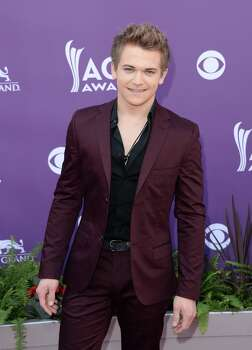 LAS VEGAS, NV - APRIL 07:  Singer Hunter Hayes arrives at the 48th Annual Academy of Country Music Awards at the MGM Grand Garden Arena on April 7, 2013 in Las Vegas, Nevada. Photo: Jason Merritt, Getty Images / 2013 Getty Images