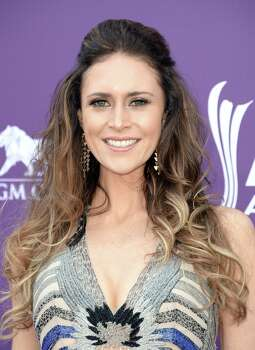 LAS VEGAS, NV - APRIL 07:  Singer Kelleigh Bannen arrives at the 48th Annual Academy of Country Music Awards at the MGM Grand Garden Arena on April 7, 2013 in Las Vegas, Nevada. Photo: Jason Merritt, Getty Images / 2013 Getty Images