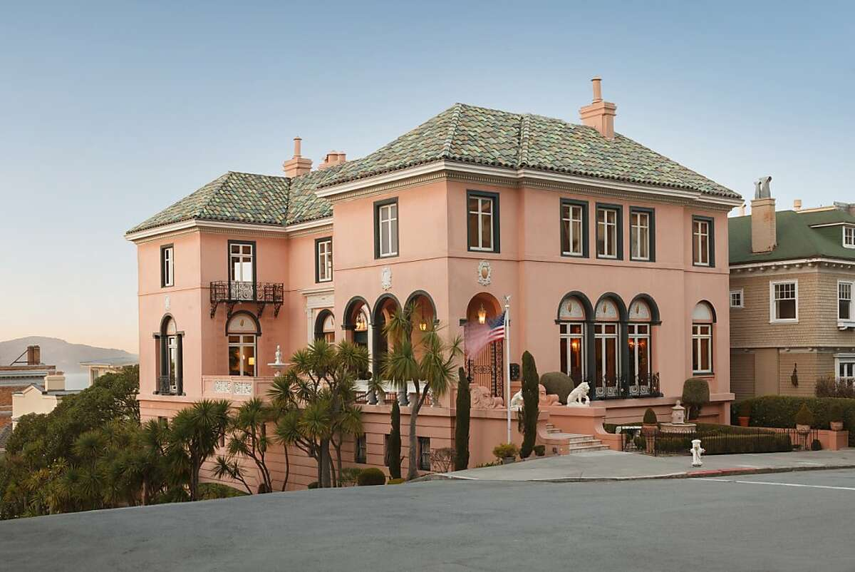 2898 Vallejo St. is a six-bedroom European home available for $16.5 million.