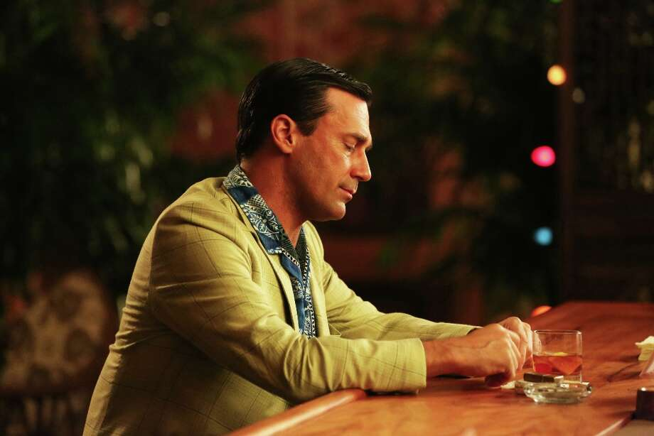Jon Hamm as Don Draper in his leisurewear. (AP Photo/AMC, Michael Yarish) Photo: Michael Yarish, Associated Press / AMC