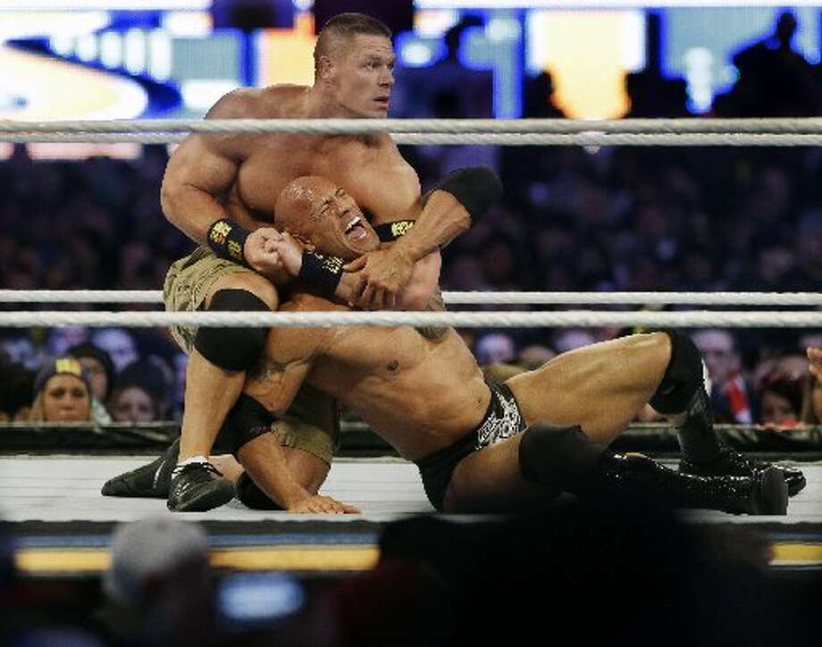The Rock vs. John Cena closed the show.