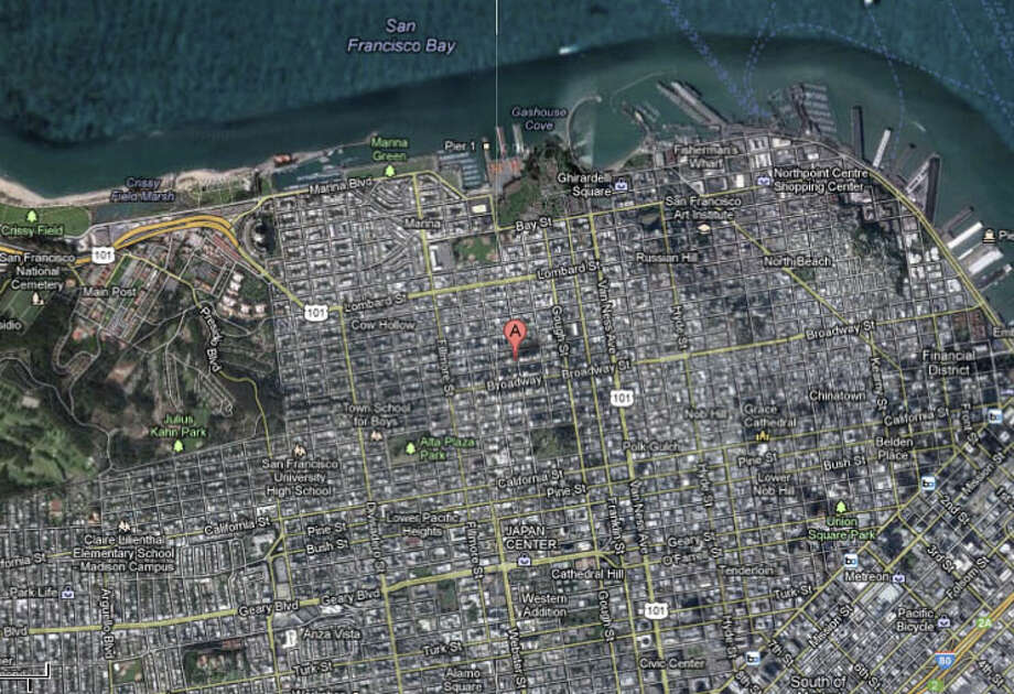 2000 block of Vallejo Street, San Francisco, CA Photo: Google Maps