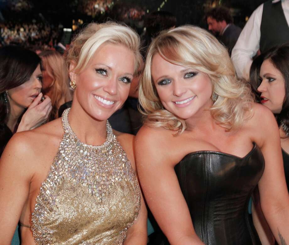 Musician Miranda Lambert (R) and Caroline Boyer attend the 48th Annual Academy of Country Music Awards at the MGM Grand Garden Arena on April 7, 2013 in Las Vegas, Nevada. Photo: Mike Windle/ACMA2013, Getty Images For ACM / Mike Windle/ACMA2013