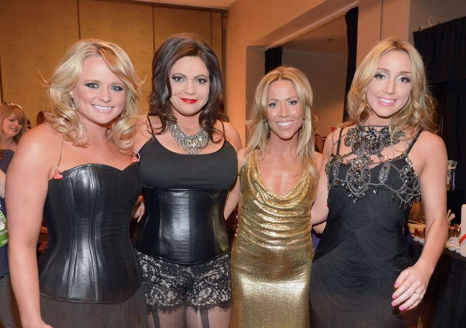 (L-R) Singers Miranda Lambert and Angaleena Presley of Pistol Annies, Sheryl Crow and Ashley Monroe of Pistol Annies attend the 48th Annual Academy of Country Music Awards at the MGM Grand Garden Arena on April 7, 2013 in Las Vegas, Nevada. Photo: Rick Diamond/ACMA2013, Getty Images For ACM / Rick Diamond/ACMA2013