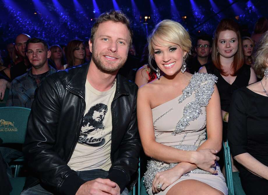 Singers Dierks Bentley (L) and Carrie Underwood attend the 48th Annual Academy of Country Music Awards at the MGM Grand Garden Arena on April 7, 2013 in Las Vegas, Nevada. Photo: Frazer Harrison/ACMA2013, Getty Images For ACM / Frazer Harrison/ACMA2013