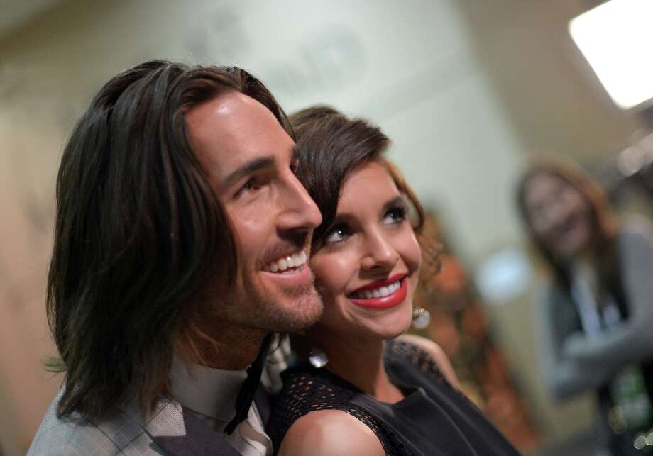 Musician Jake Owen and Lacey Buchanan Owen attend the 48th Annual Academy of Country Music Awards at the MGM Grand Garden Arena on April 7, 2013 in Las Vegas, Nevada. Photo: Charley Gallay/ACMA2013, Getty Images For ACM / Charley Gallay/ACMA2013