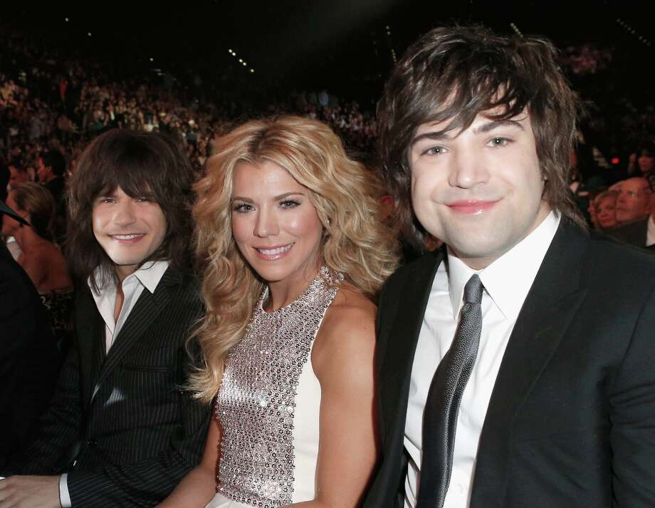 (L-R) Musicians Reid Perry, Kimberly Perry and Neil Perry of The Band Perry attend the 48th Annual Academy of Country Music Awards at the MGM Grand Garden Arena on April 7, 2013 in Las Vegas, Nevada. Photo: Mike Windle/ACMA2013, Getty Images For ACM / Mike Windle/ACMA2013
