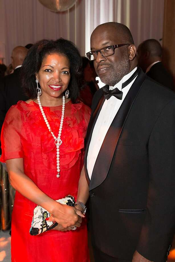 Denise Bradley Tyson and Bernard Tyson at the annual Red Cross Gala on April 6, 2013. Photo: Drew Altizer Photography
