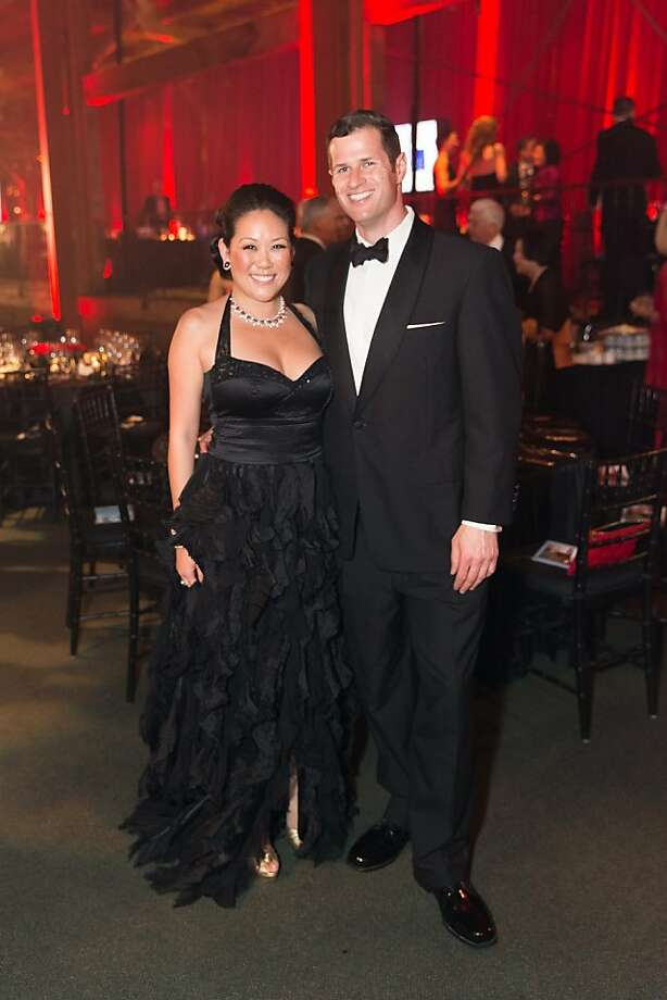 Ye-Hui Lu and Nick Goldenson at the annual Red Cross Gala on April 6, 2013. Photo: Drew Altizer Photography