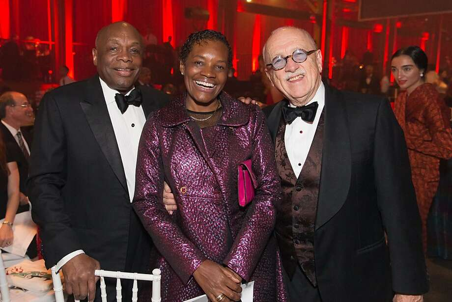 Willie Brown, Susan Brown and Wilkes Bashford at the annual Red Cross Gala on April 6, 2013. Photo: Drew Altizer Photography