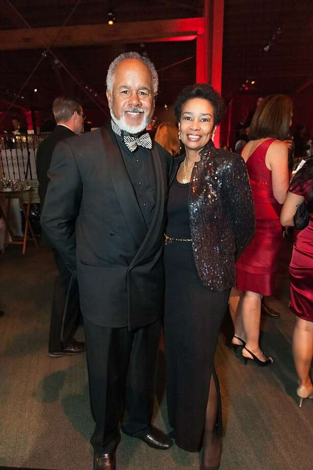 Marc Loupe and Anette Harris at the annual Red Cross Gala on April 6, 2013. Photo: Drew Altizer Photography