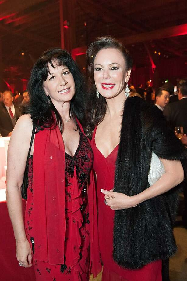 Anna Alioto and Margaret Mitchell at the annual Red Cross Gala on April 6, 2013. Photo: Drew Altizer Photography