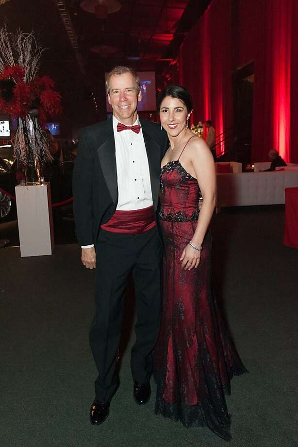 Larry Dan and Natasha Chalmers at the annual Red Cross Gala on April 6, 2013. Photo: Drew Altizer Photography