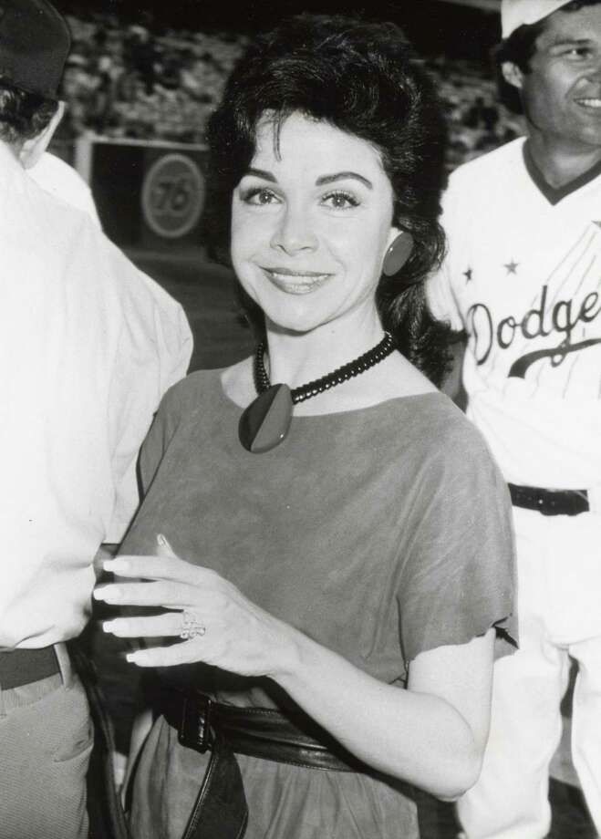 Annette Funicello during Celebrity Night at Dodger Stadium at Dodger Stadium in Los Angeles in 1983. Photo: Ron Galella, File / 2003 All Rights Reserved