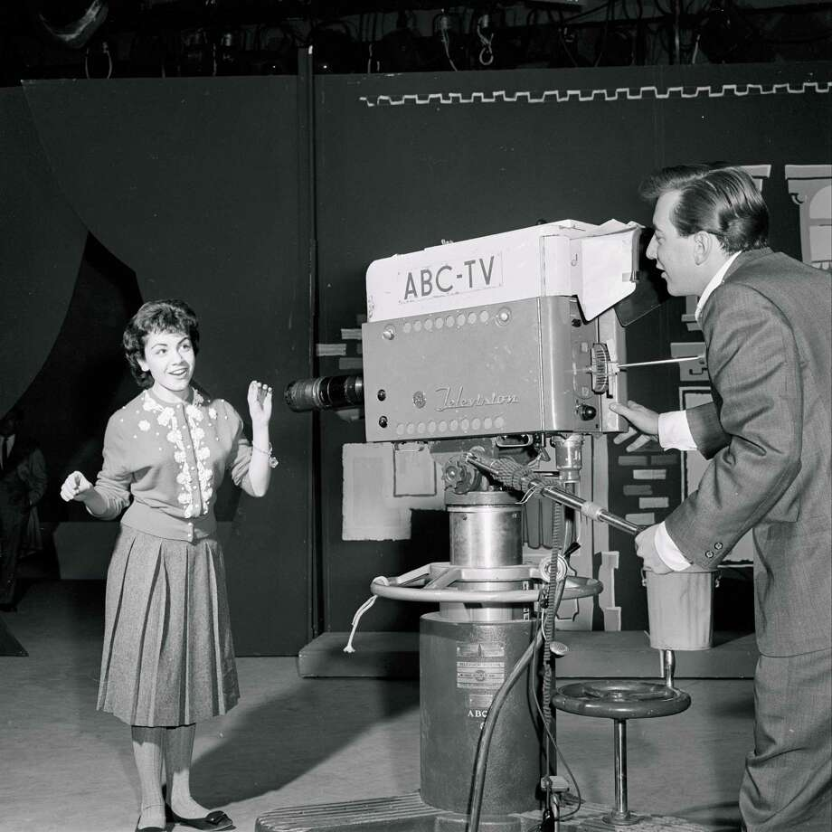 "Annette Funicello on the set of ""American Bandstand"" in 1959. Photo: ABC Photo Archives, File / 2010 American Broadcasting Companies, Inc."