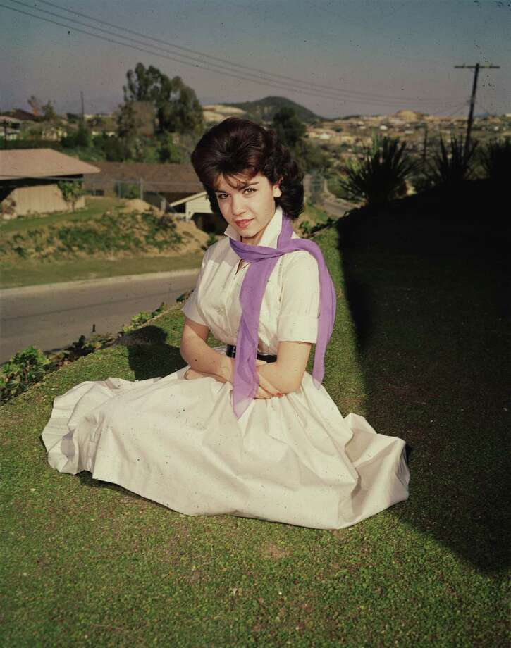 Full-length portrait of American actor and Mickey Mouseketeer Annette Funicello in 1955. Photo: Hulton Archive, File / Archive Photos