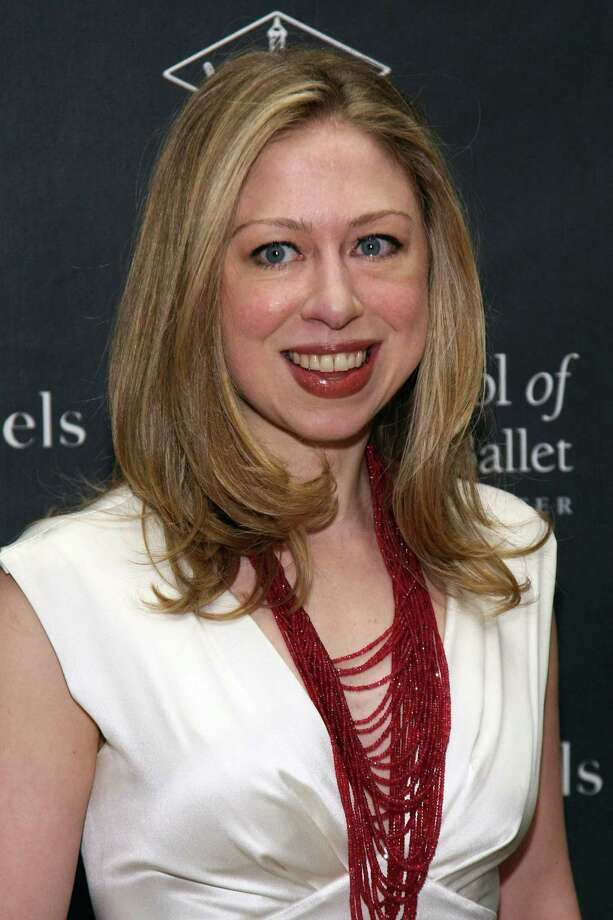 Chelsea Clinton is a vegan. She reportedly served vegan dishes and a vegan and gluten-free cake at her wedding. Photo: Neilson Barnard, Getty Images / 2012 Getty Images