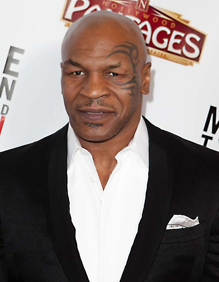Mike Tyson credits veganism with improving his life after years of drug use.  Photo: Gabriel Olsen, FilmMagic / 2013 Gabriel Olsen