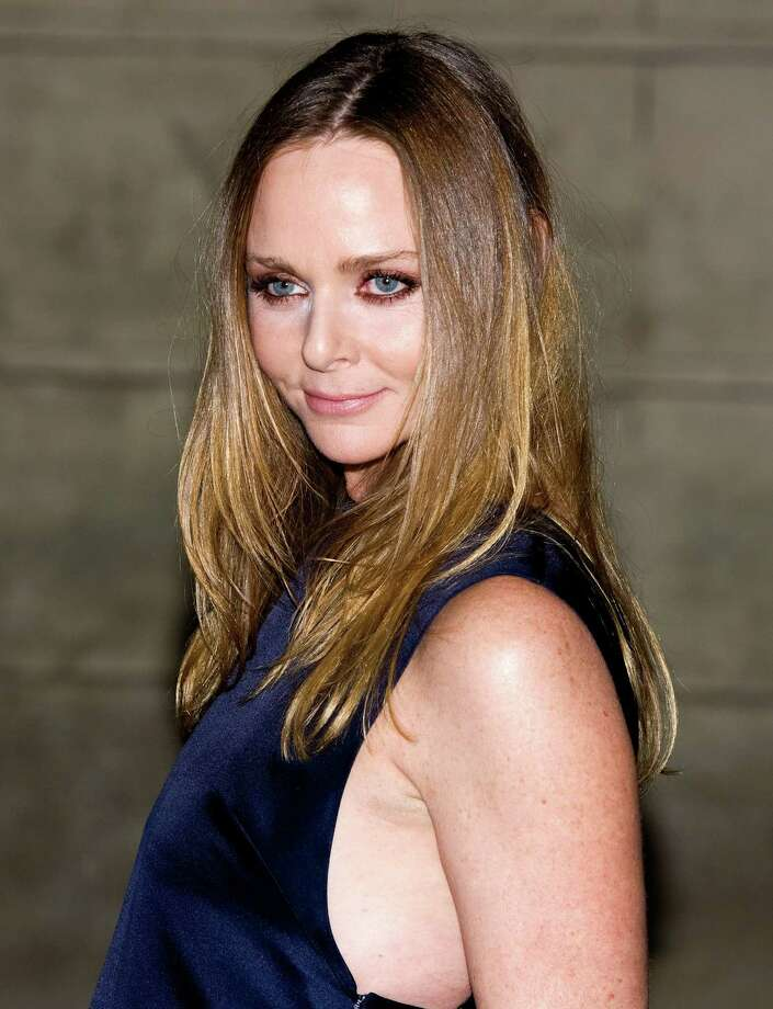 A lifelong vegetarian (she is the daughter of Linda and Paul McCartney, after all), designer Stella McCartney doesn't use leather or fur in her collections. Photo: Samir Hussein, Getty Images / 2012 Getty Images