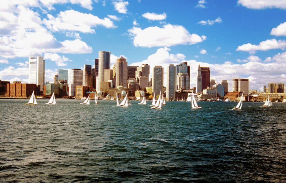 Boston, MAis ranked at No. 83 in the top 100 allergy capitals in America this year, according to the Asthma and Allergy Foundation of America, with a total score of 56.14.  Sailboats in Boston Harbor in front of the financial district of Boston, Massachusetts, USA Photo: Medioimages/Photodisc, Getty Images / (c) Medioimages/Photodisc