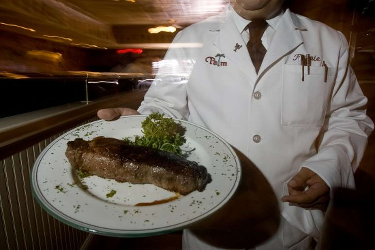 The Palm Houston is undergoing a dramatic renovation but will feature the same Prime steaks