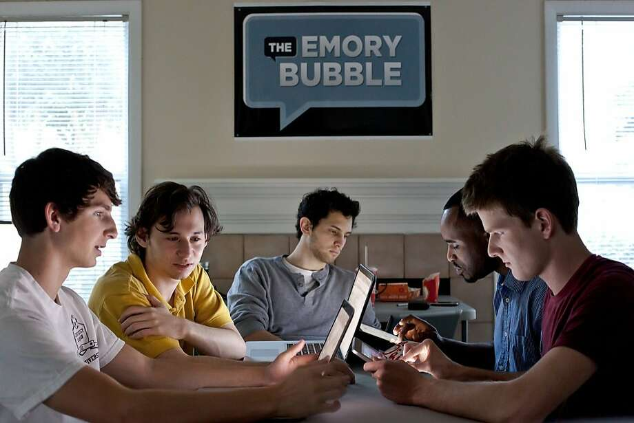 Emory University students started Campus Bubble, which is like Google Circles for universities. Photo: Courtesy Universitycollaboration, Universitycollaboration.com