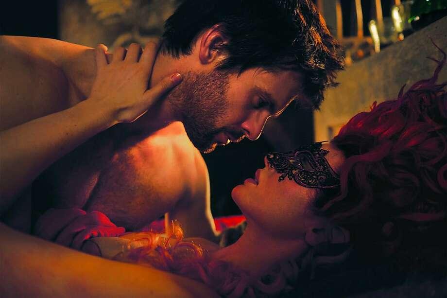 "Leonardo da Vinci (Tom Riley), Lucrezia Donati (Laura Haddock) in ""Da Vinci's Demons."" Photo: Starz Entertainment"