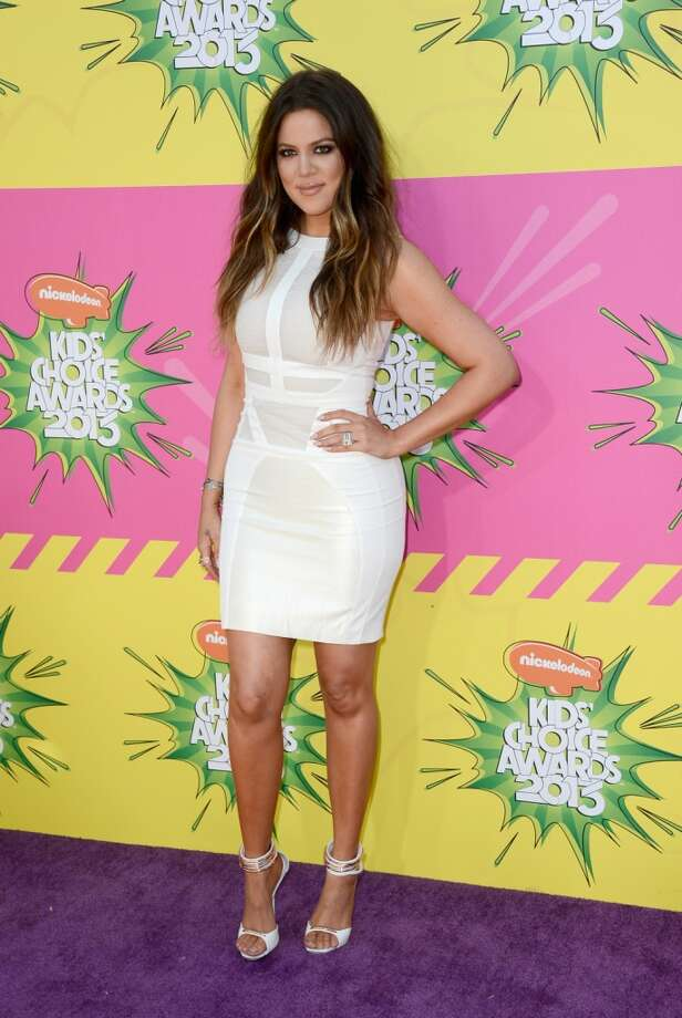 Khloe Kardashian arrives at Nickelodeon\'s 26th Annual Kids\' Choice Awards at USC Galen Center in Los Angeles, California.  (Photo by Frazer Harrison/Getty Images for KCA)