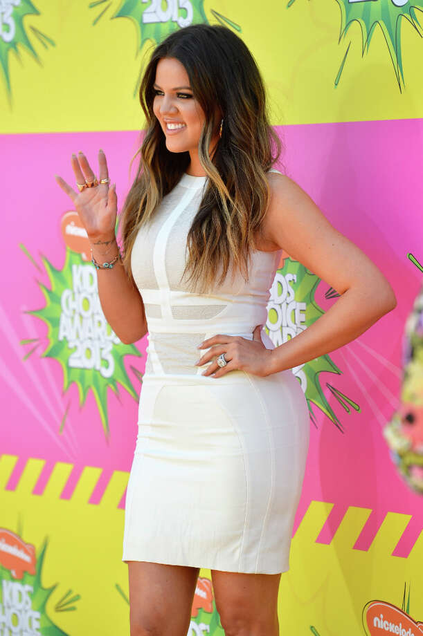 Khloe Kardashian arrives at Nickelodeon\'s 26th Annual Kids\' Choice Awards at USC Galen Center in Los Angeles, California. Photo: Frazer Harrison, Getty Images / 2013 Getty Images