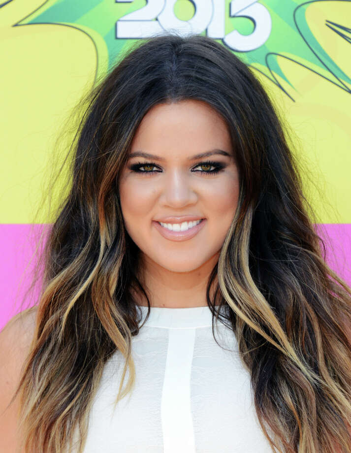 Khloe Kardashian arrives at the 26th annual Nickelodeon\'s Kids\' Choice Awards on Saturday, March 23, 2013, in Los Angeles. (Photo by Jordan Strauss/Invision/AP) Photo: Jordan Strauss, Associated Press / Invision