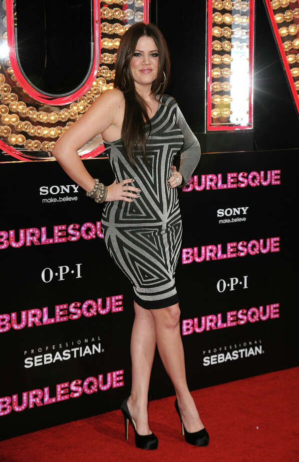 Khloe Kardashian arrives at the premiere of Screen Gems\' \'Burlesque\' at Graumans Chinese Theater on November 15, 2010 in Los Angeles, California. Photo: Jason Merritt, Getty Images / Getty Images North America