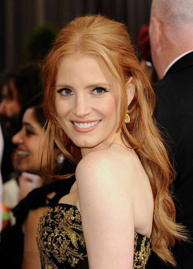 """Actress Jessica Chastain, who recently starred in """"The Help"""" and """"Tree of Life,"""" is a vegan. Photo: Frazer Harrison, Getty Images / 2012 Getty Images"""