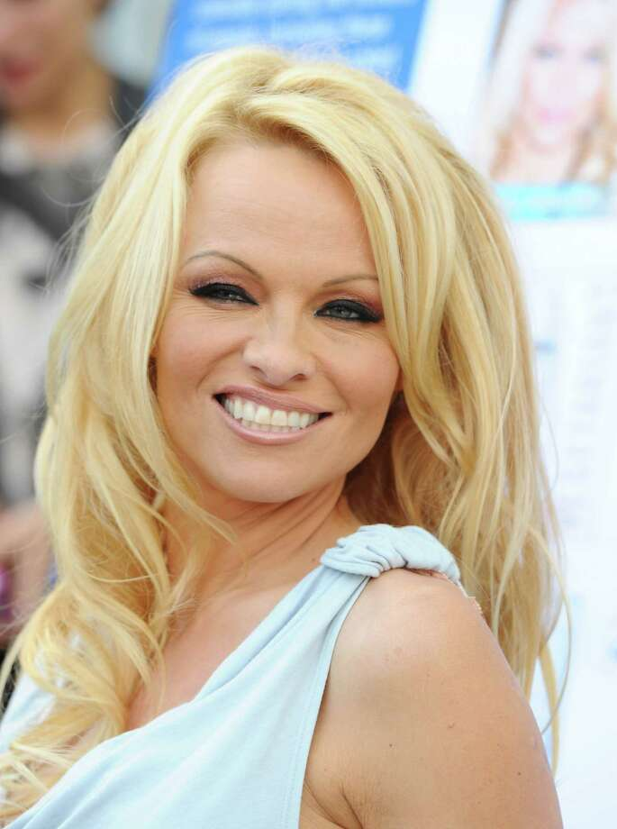 Pamela Anderson has been a vegetarian for years, and is an outspoken animal rights activist and PETA spokesperson. She appeared on Dancing with the Stars in 2010 and 2012. Photo: Michael Buckner, Getty Images / 2011 Getty Images