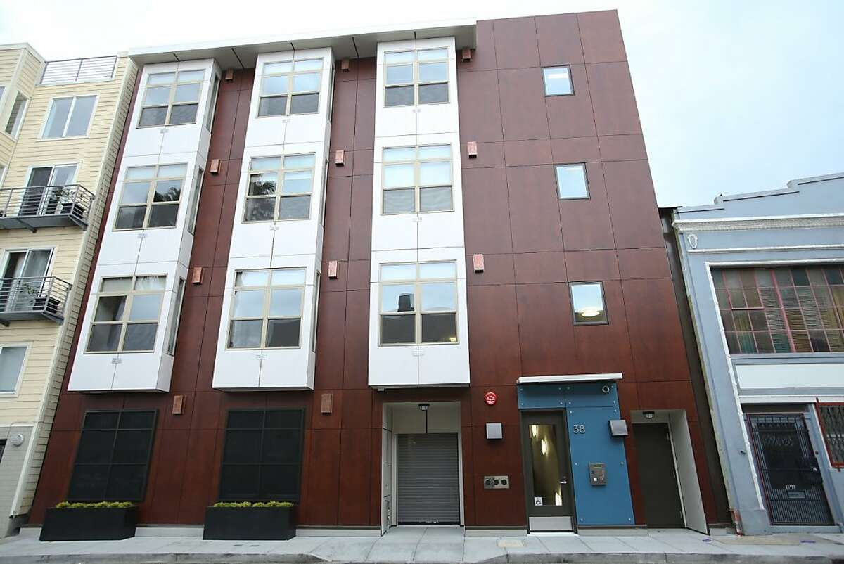 38 Harriet St. has been turned into micro apartments.