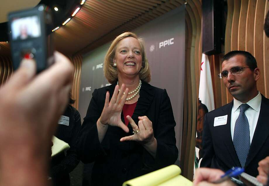 The new HP server line is Meg Whitman's shot at securing success in her tenure as the venerable tech firm's CEO. Photo: Lance Iversen, The Chronicle