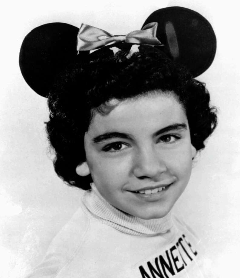 October 3, 1955:The Mickey Mouse Club debuts on television with a case including Annette Funicello, who passed away in 2013. Photo: Uncredited, HOEP / Walt Disney Co.
