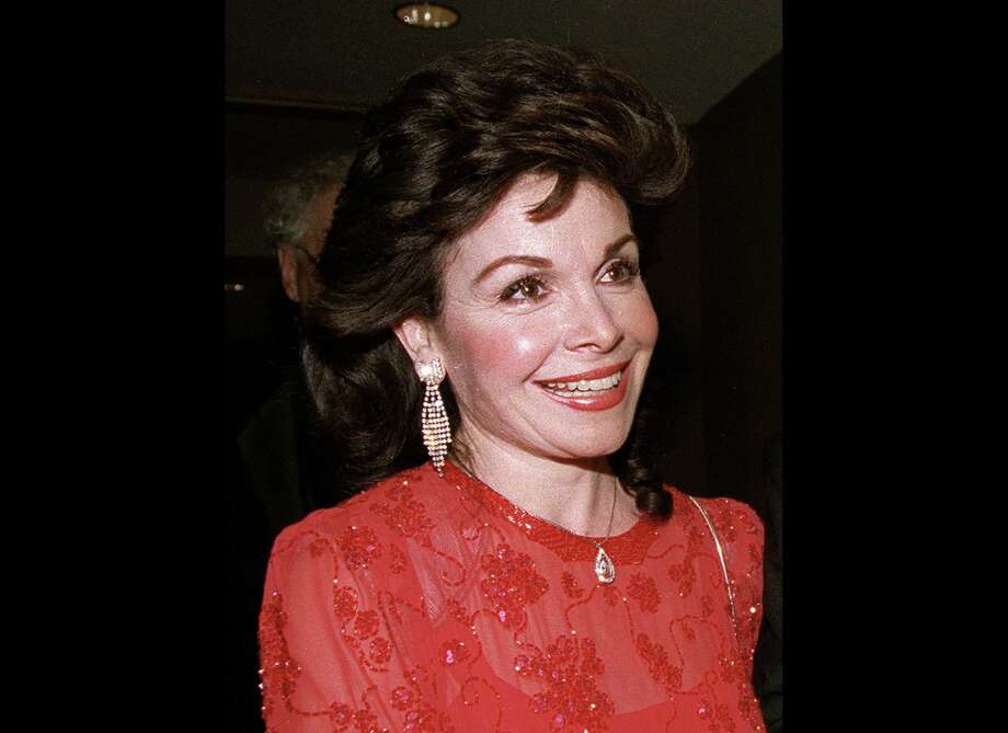 FILE - In this Oct. 20, 1990 file photo, actress and former Mickey Mouse Club member Annette Funicello arrives for the 15th annual Italian American Foundation dinner in Washington. Walt Disney Co. says, Monday, April 8, 2013, that Funicello, also known for her beach movies with Frankie Avalon, has died at age 70. (AP Photo/J. Scott Applewhite, File) Photo: J. Scott Applewhite
