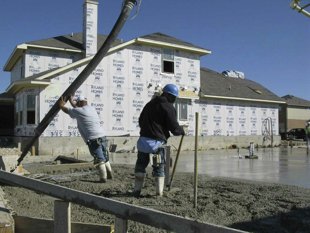 Cibolo, where this home is being built, is one of the local cities calling for a Texas