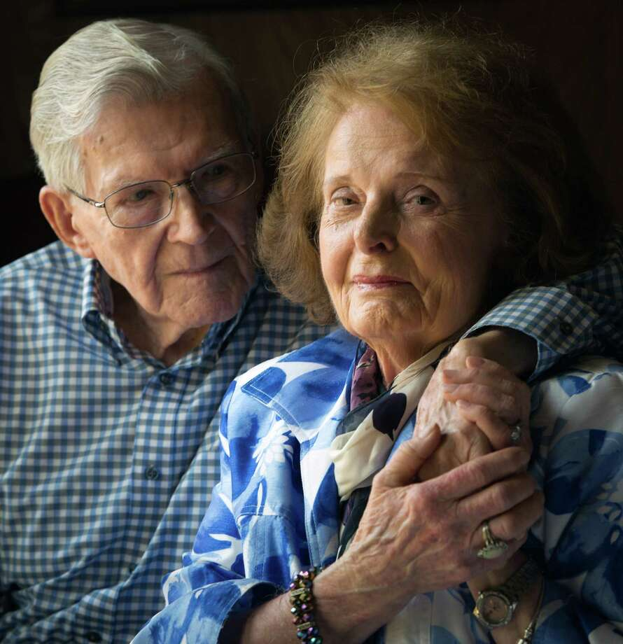 Thomas and Geraldine Barthlow are coping with an unexpected heartbreak after traveling from Florida to Texas for a funeral. Photo: Smiley N. Pool, Staff / © 2013  Houston Chronicle