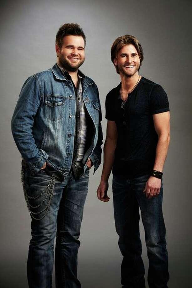 "THE VOICE -- Season: 4 -- Pictured: (l-r) ""The Swon Bros"", Zach Swon, Colton Swon -- Photo: NBC, Paul Drinkwater/NBC / 2012 NBCUniversal Media, LLC"