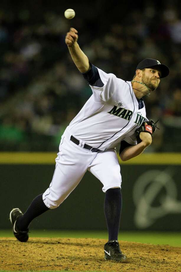 Mariners pitcher Charlie Furbush hurls a fastball. Photo: JORDAN STEAD / SEATTLEPI.COM