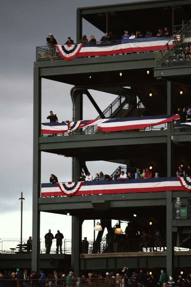 The outfield stands are shown during opening day. Photo: JOSHUA TRUJILLO / SEATTLEPI.COM