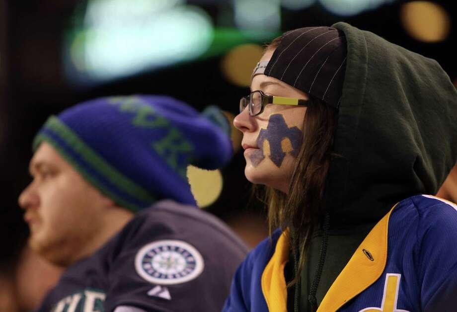 Fans watch game action. Photo: JOSHUA TRUJILLO / SEATTLEPI.COM