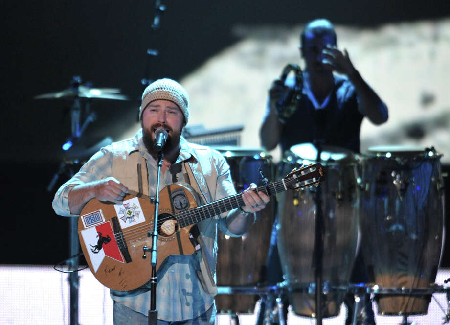 Zac Brown, left, performs with the Zac Brown Band at the 2012 CMT Music Awards on Wednesday, June 6, 2012 in Nashville, Tenn. Photo: John Shearer, JOHN SHEARER/INVISION/AP / 2012 Invision